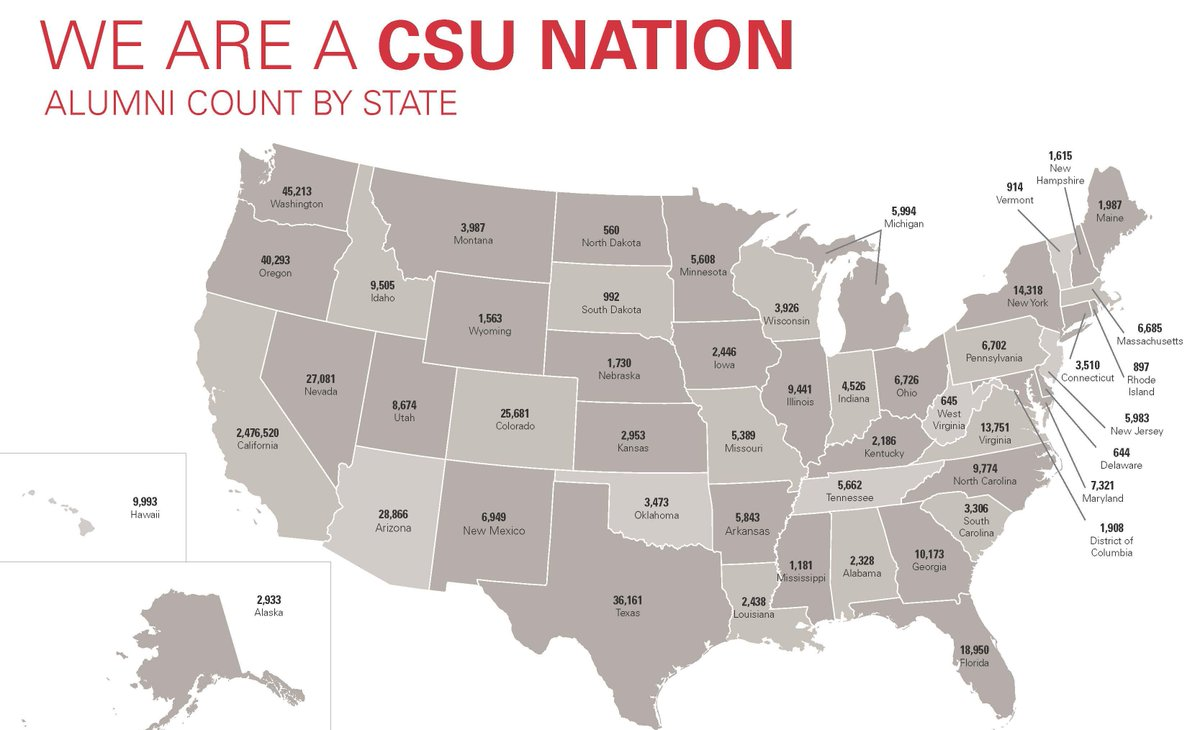 We're not limited to California. It's a CSU Nation: http://t.co/NccGztxlhE