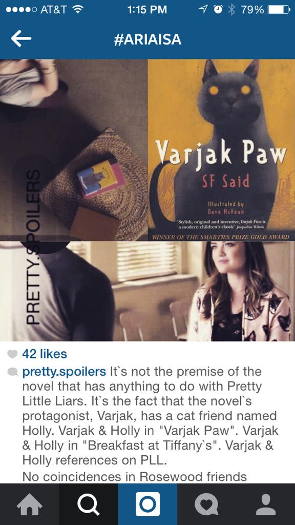 Best spoiler I've seen in awhile! #PLLTheory #PLLSocialHour #ariaisa #varjack #pll #PrettyLittleLiars http://t.co/yNOJk1KGTr