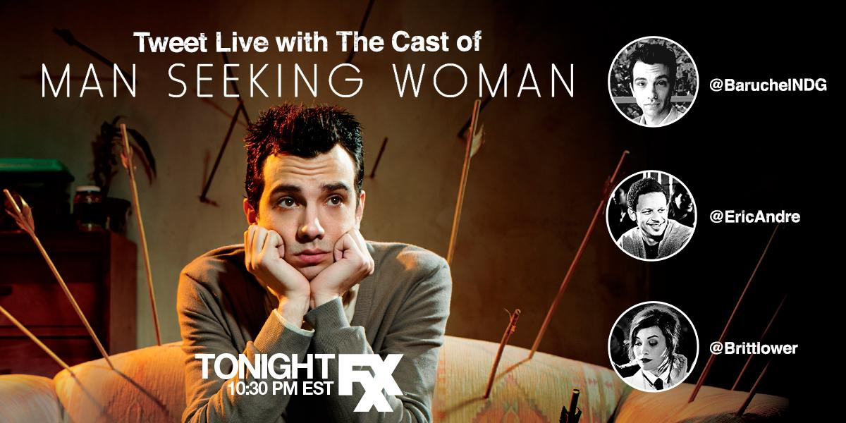 man seeking woman teacup cast The man seeking woman cast proves even celebrities get starstruck.
