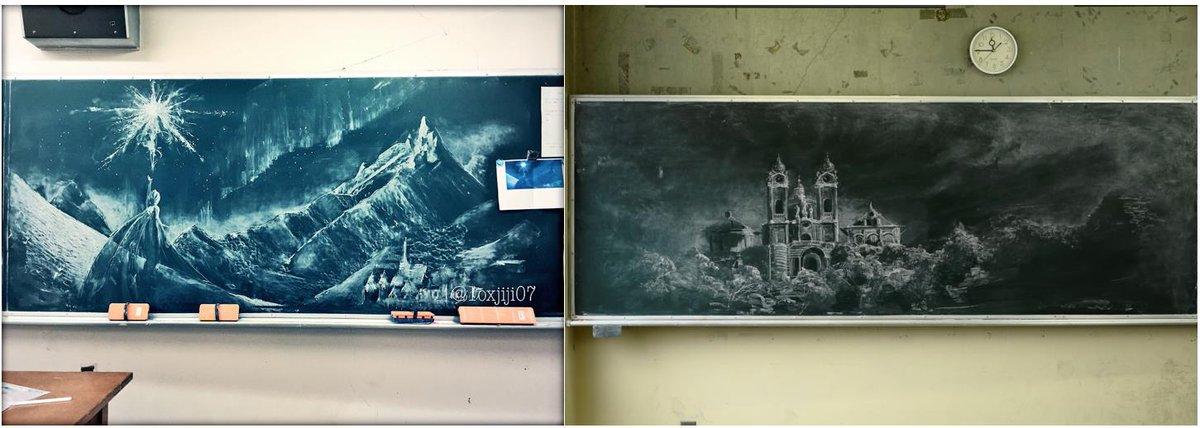 「アナ雪」の黒板アートで話題の女子高生が、宮部みゆき最新作のカバーイラストを担当!!『過ぎ去りし王国の城』4月24日(金)発売!!http://t.co/whJ52M1x89 http://t.co/3kRFGdbhCh