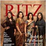 Grabbed your copy of @RitzMagChennai featuring fabulous 4? @realradikaa, Jayadevi Cholayil, Pooja Jain, Maria Zeena. http://t.co/YL7icFqimo