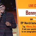 RT @Mirchi983FM: @rubaiya44 Hey, get a chance to ask your icon,@Benny_Dayal all the questions you want! Tweet with #MMAwards http://t.co/4C…