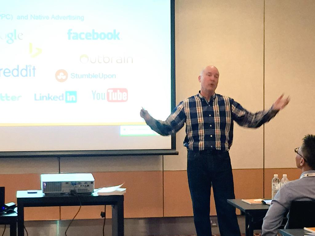 .@ArnieK talking content promotion at #contentmarketing Singapore. #contentmktgasia http://t.co/A2updPsoyP