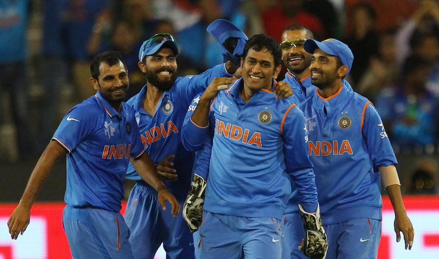 MS Dhoni becomes the first non-Australian captain (third overall) to win 100 ODIs. Proud of you, Captain. #जयहिन्द http://t.co/RZRVA2ILat