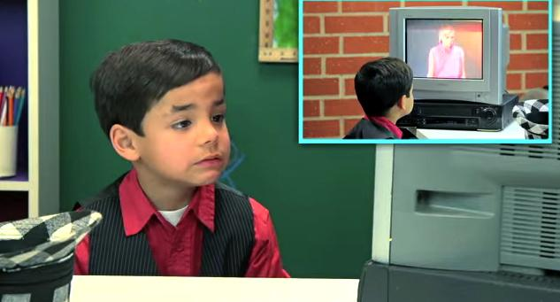 """Haha! Brilliant! @bonniegrrl: """"It's a blurry mess!"""" Kids react to VCRs & videotapes! @Crave  http://t.co/h7QiudYNzB http://t.co/AprzVPMT1f"""""""