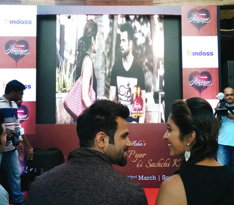 Special screening of #YehHaiAashiqui Sachche pyar ki sachchi kahaani of @rithvik_RD & @AshaNegi7. Coming this #sunday http://t.co/3xXARc0gmI