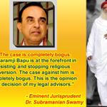 Legal Expert Dr. Subramanian Swamy clearly states that Asaram Bapu Jis case is BOGUS #निर्दोष_बापूजीको_न्यायमिले http://t.co/uxVvYlQVXg