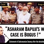 Dr. Swamy clearly states-Asaram Bapujis case is BOGUS #निर्दोष_बापूजीको_न्यायमिले Stop POCSO Misuse http://t.co/3HbrzMXoyU @timesofindia