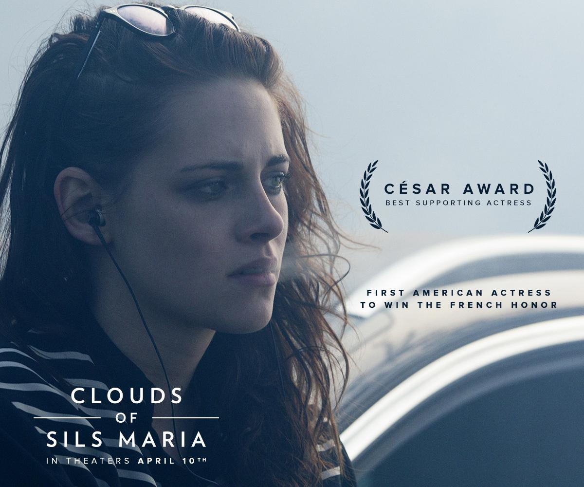 #KristenStewart made history as the first American actress to win a César Award in #CloudsOfSilsMaria http://t.co/KEuYiadEmH