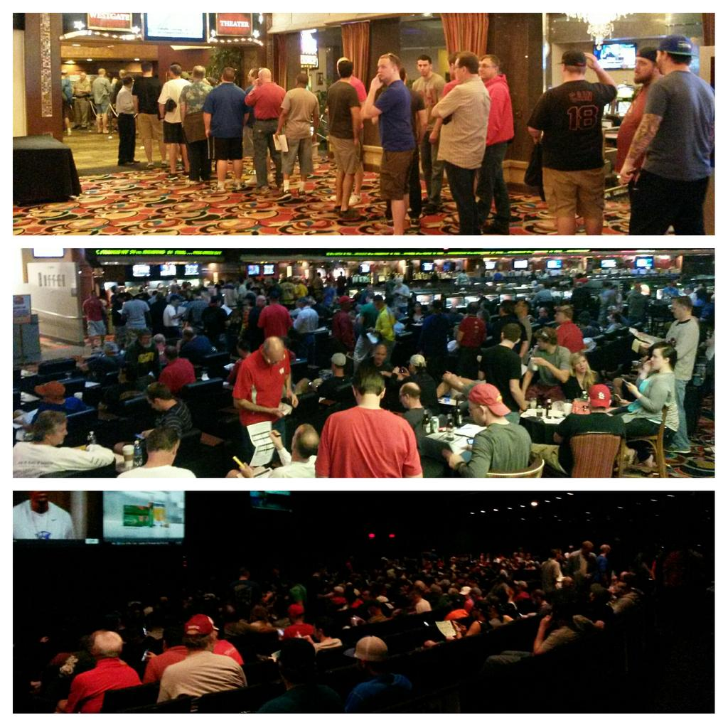 @Westgate_LV is tipping off #HoopsCentral with @LVSuperBook for the biggest basketball party in #vegas #MarchMadness http://t.co/2kdrAdQkjN