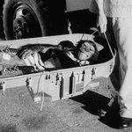 Ham the astrochimp grins after his suborbital flight, 1961. Photo: Ralph Morse http://t.co/wElcSlmB7P