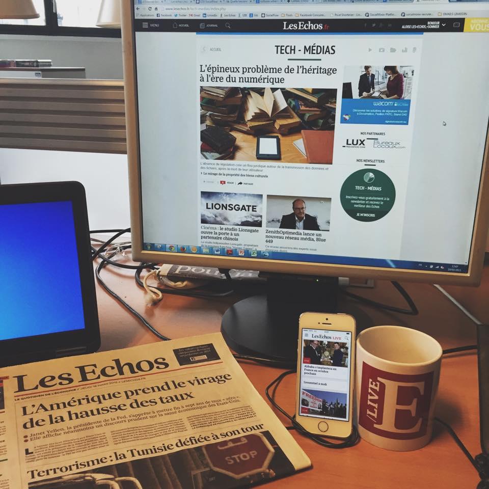 .@LesEchos recrutent un journaliste numérique. Le bureau est prêt, il ne manque plus que vous! http://t.co/QkzTbxGe4t http://t.co/m2PpY6bcON