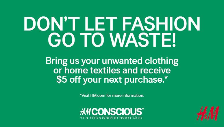 Get rewarded by recycling! recycle your old clothes or ...