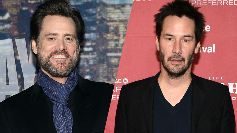.@JimCarrey, Keanu Reeves join