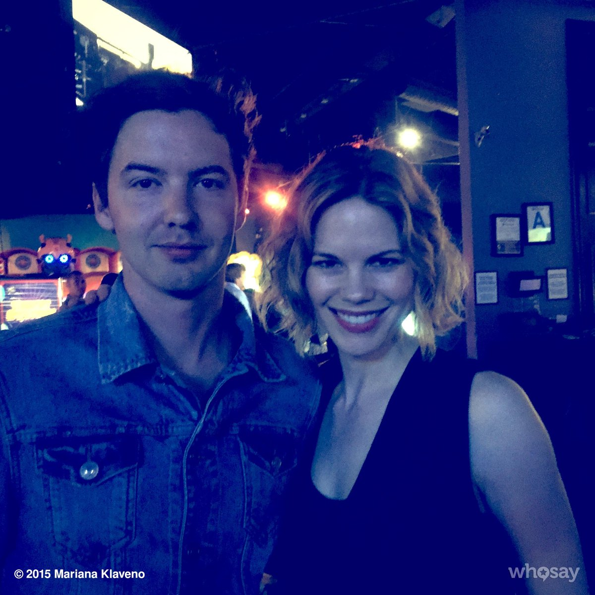 Hanging with @erik_stocklin aka Perry at the @StalkerCBS season 1 wrap party. http://t.co/Mw8Rehd8kw