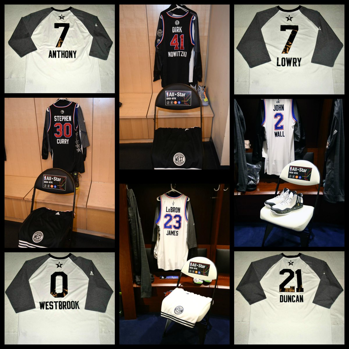 Rt Nbaauctions Auction Ends Tonight 2015 All Star Game Shooting Shirts Am