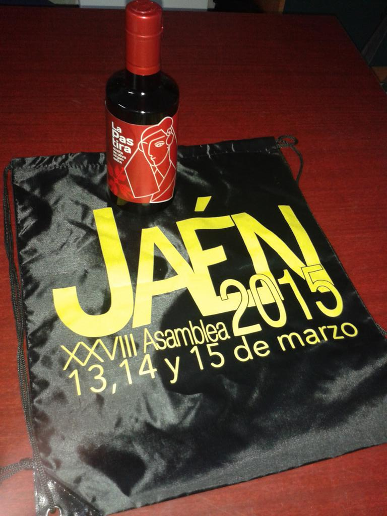 RT @jaenjacobea: También apoyó nuestra 28Asamblea Nacional con un gran producto @LaPastira de Jaén  ¡¡¡GRACIAS!!! http://t.co/gIZ7gguFAv