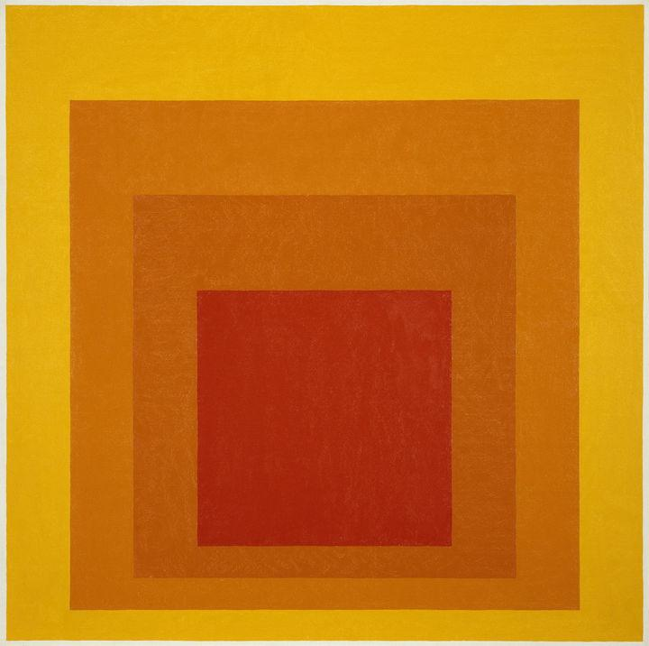 Happy birthday to father of color theory, Josef Albers! http://t.co/1lqJJPBqef http://t.co/mCezI4kF9Q