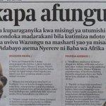 EPA, RADA, Meremeta, Bulyanhulu, ulikuwa ni utumishi uliotukuka http://t.co/WPdMTdALWF