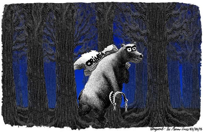 """""""Власти"""" оккупированного Крыма заявили о задержании якобы бойца """"Азова"""", которого обвиняют в поджоге мечети в Симферополе - Цензор.НЕТ 9930"""