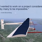 Alum André Borschberg embarks on an around-the-world attempt at solar flight on @SolarImpulse http://t.co/dKPYuphtZH http://t.co/8st7Fm0qDG