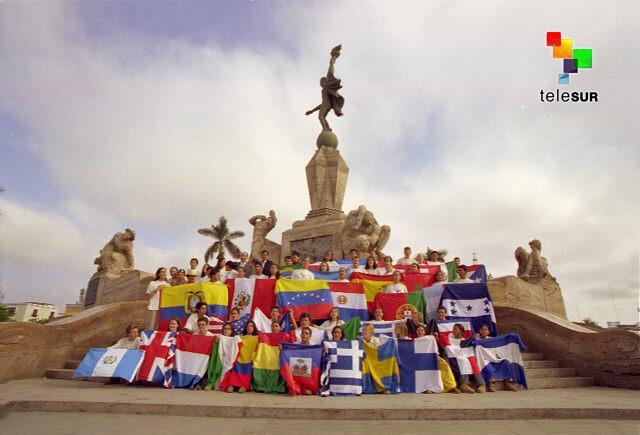 #SoyFelizcuando veo el despertar de América Latina y la unión de sus pueblos http://t.co/FvFhGCeVi1