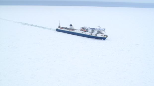 Ferry trapped in ice off Nova Scotia since Wednesday with 40 aboard http://t.co/2XqMhWjBkZ via @CBCNews http://t.co/IGUK2d4re1