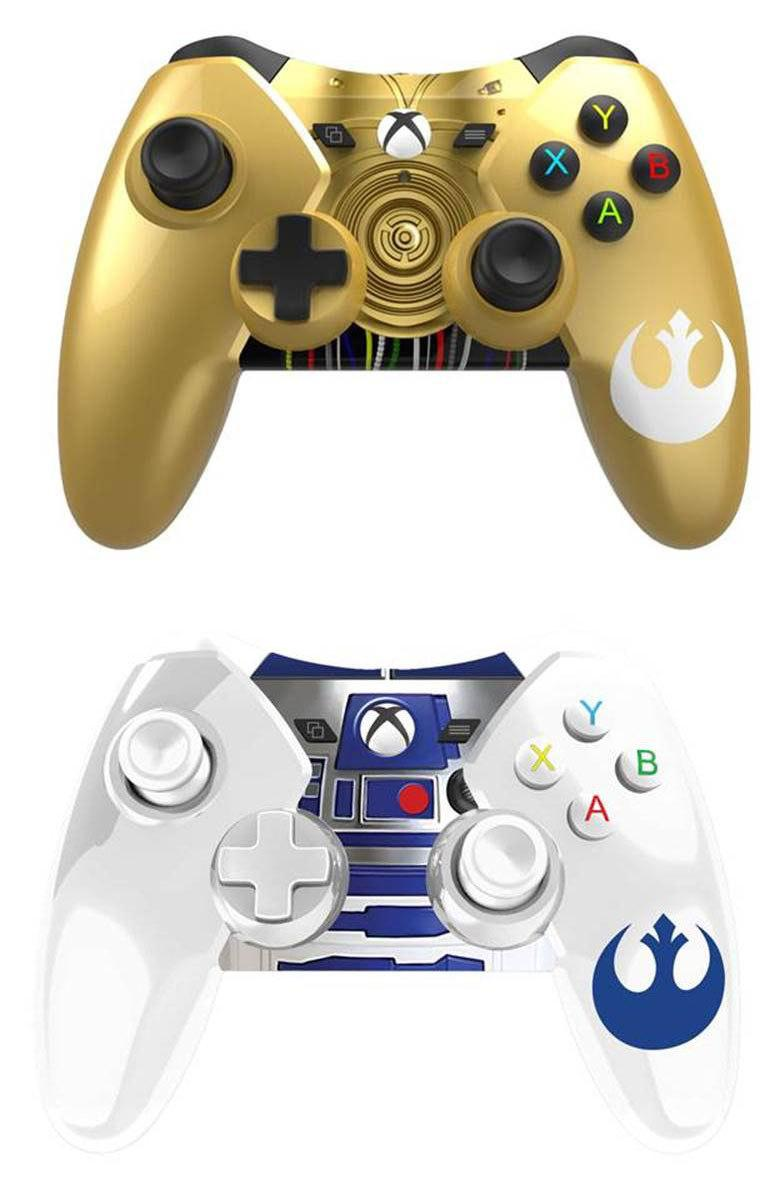 Pre-order these #r2d2 and exclusive #c3po wired #xboxone #starwars ...
