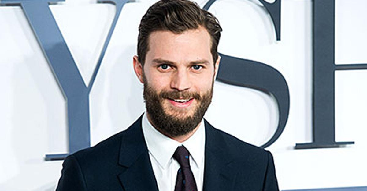 Jamie Dornan wants you guys to know he isn't really a sick psychopath