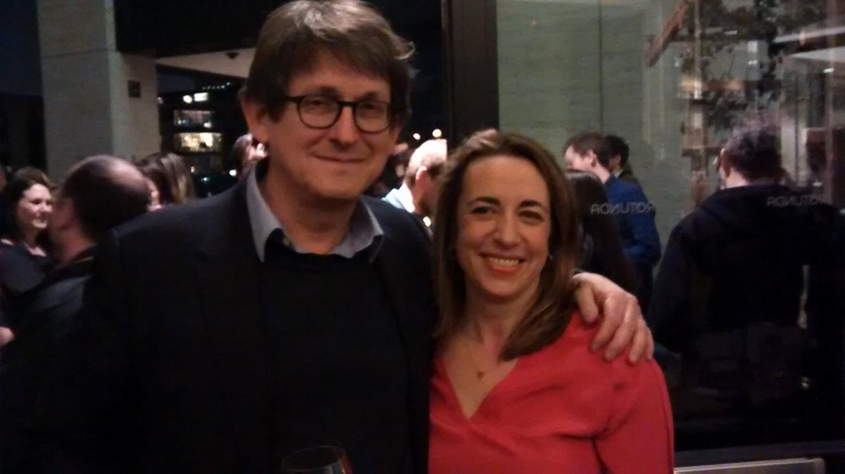 .@arusbridger and @KathViner. Passing the flame... http://t.co/tFNMLs6DqI