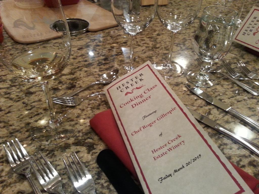 One of my FAVE #bcwine experiences in @winecapital @uncorkthesun. Cooking class @hestercreek. #okanagan http://t.co/Rp7sKxUdfb