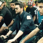 Proud to be the Brand ambassador of WWF's Earth Hour. 2015. Cycled on the wide streets of Delhi early morning. http://t.co/js90TS6vhH