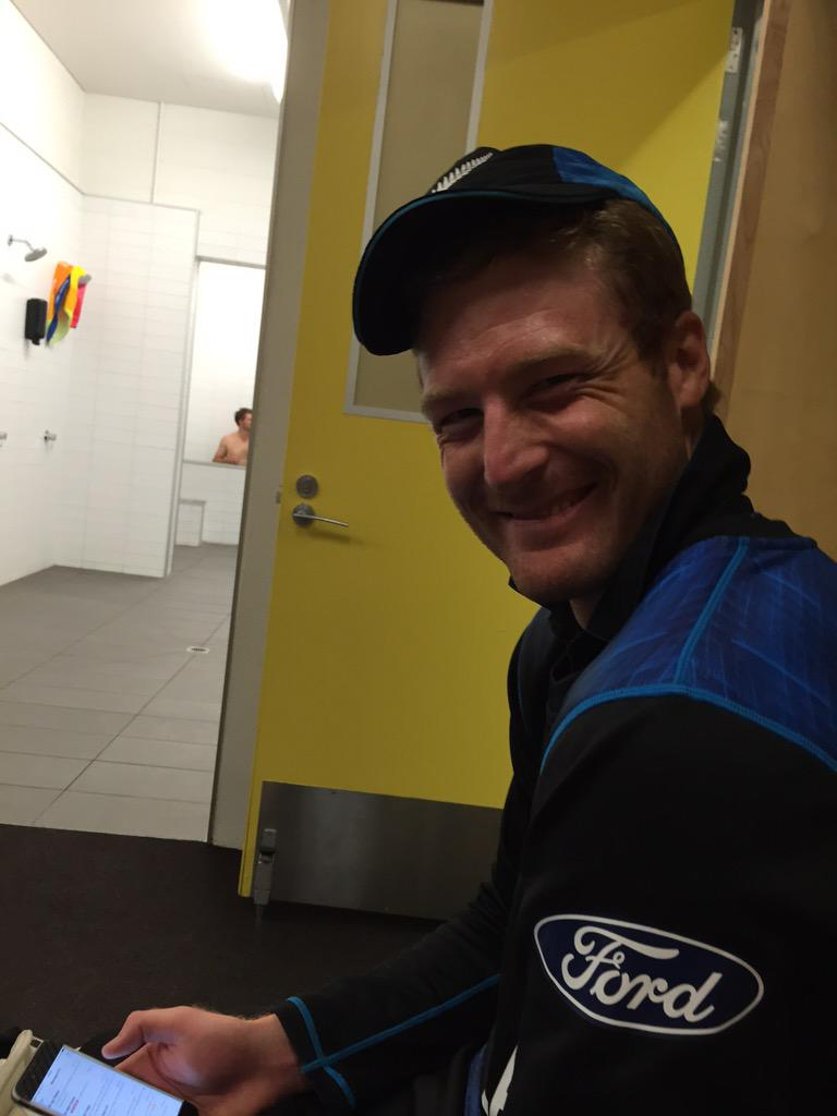 What an amazing game and a special knock from @Martyguptill #237NotOut. Now for the semis. http://t.co/o8kdNvJqs2