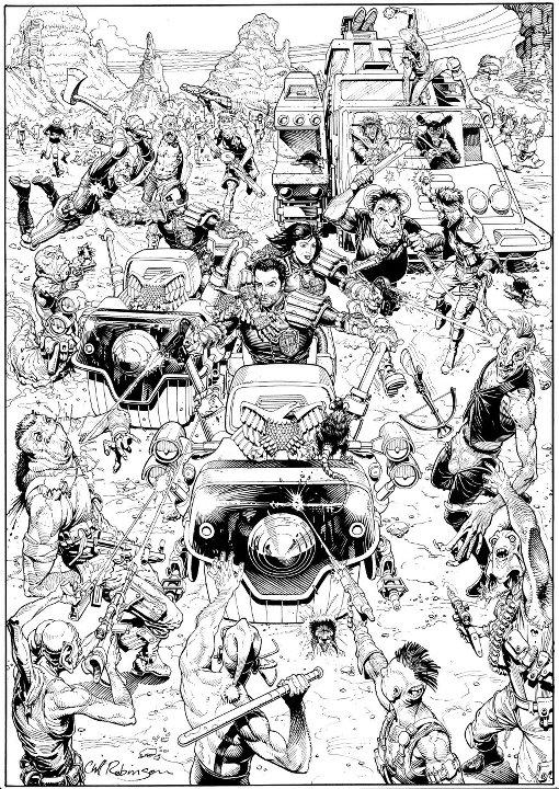 Happy Birthday to @2000AD ace artist Cliff Robinson! http://t.co/KHv9XdtpJ3