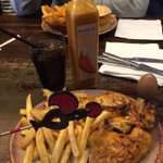 Perfect day for a @NandosUK. Good to be back on the UK version! http://t.co/B0WG7OVVMd