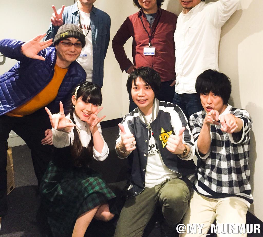 本日の『スペース☆ダンディ』トーク&上映会イベント、登壇者&渡辺総監督で終了後に。ナベシンさんの御希望でトリミング(笑)