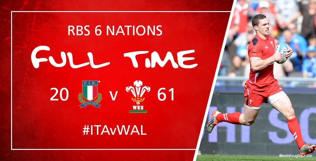 FT Italy 20 - 61 Wales #ITAvWAL http://t.co/07jcoCfUFc