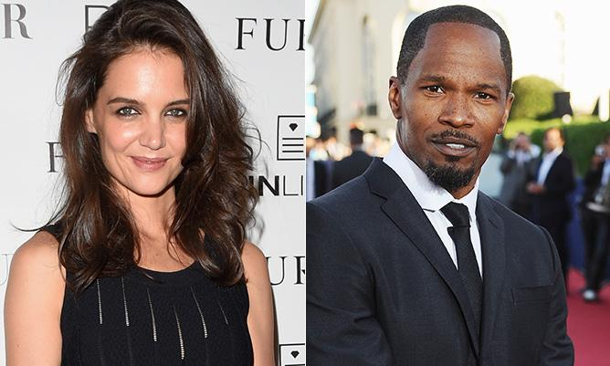 Are Jamie Foxx and Katie Holmes dating? Find out here...