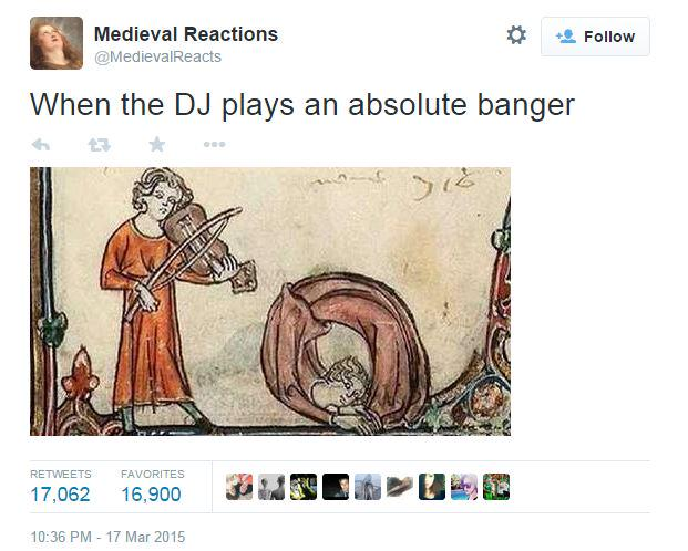 Introducing Medieval Reactions Your New Favourite Twitter