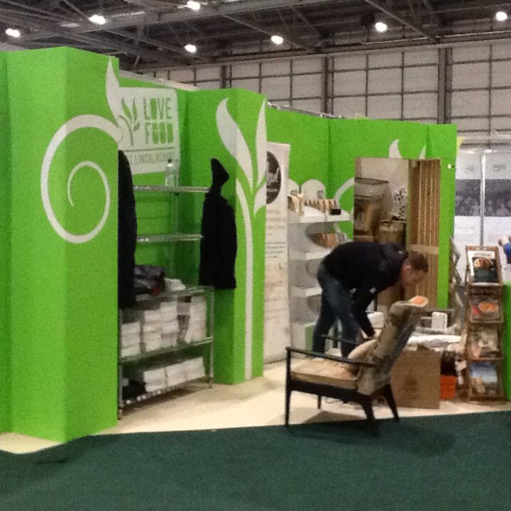 We're setting up for #IFE15 ! We'll be spreading the word about how great Lincolnshire food is! #larderofgod http://t.co/IBUJDm9KME