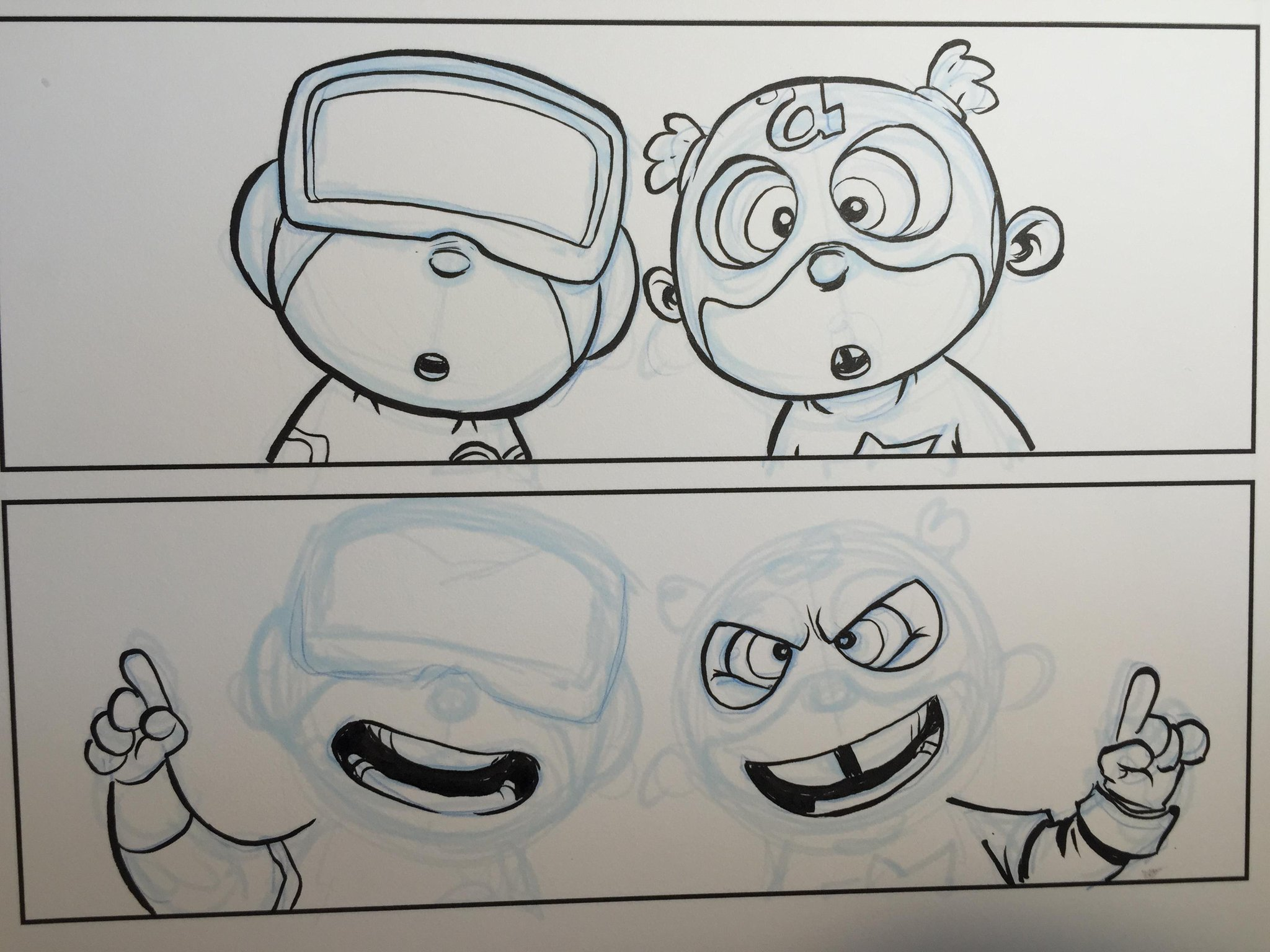 Easy way to slightly change expressions without redrawing. Timing tricks. http://t.co/PS1GcsSgvj