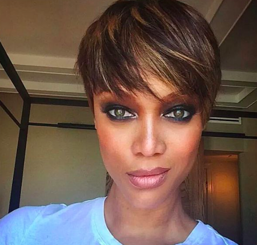 Crop Killa Tyra Banks Shares Tons Of New Pics Of Her New Short
