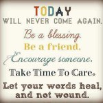 Let your words heal, and not wound... Have a super Sunday... http://t.co/pM80md3RLr