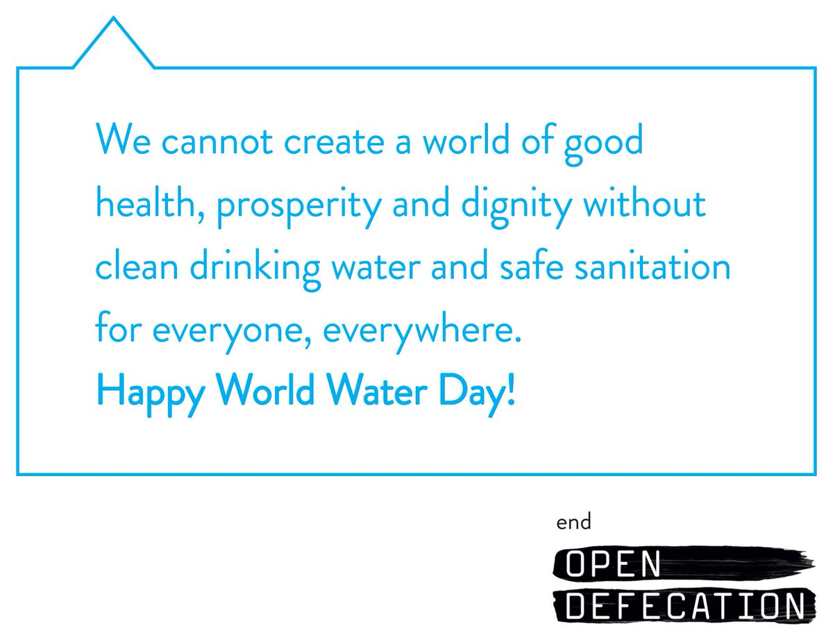 #WaterIs life, #sanitation is dignity. Sunday is #WorldWaterDay! http://t.co/Ek3uIeQy4v #action2015 http://t.co/VdZqb4vXoU