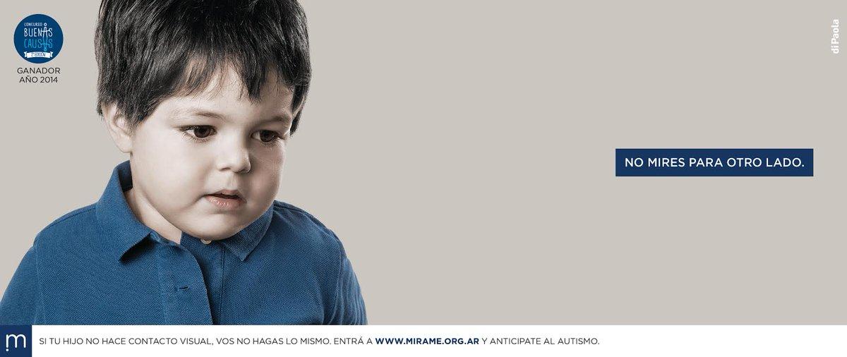 Campaña de detección temprana del #autismo http://t.co/rUCof4Xacq RedEA y @diPaolaAR, ayudanos a difundir! #mirame http://t.co/15tjKPGCv7