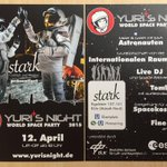 RT @WorldSpaceWeek: Which @YurisNight event will you attend? This one will be in Cologne, Germany! #SpaceUpCGN http://t.co/wZ8MkUQDlB