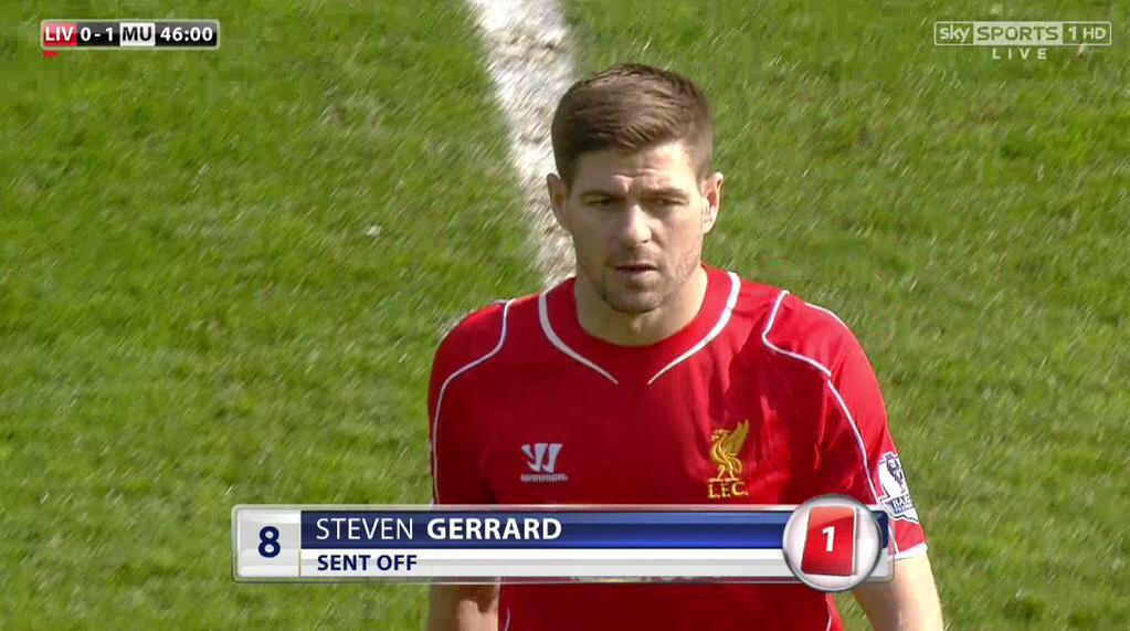 Bae: hey you wanna come over  Gerrard: I'm just about to come on as a sub u kno babe  Bae: but my parents ain't home http://t.co/UFcuwtevzV
