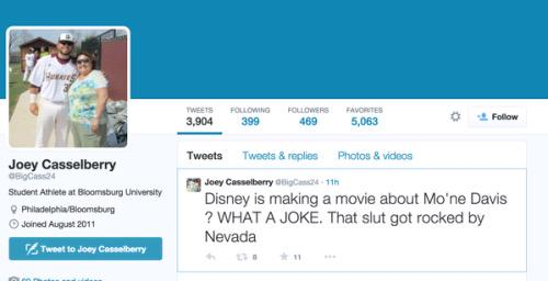 Why we need to teach responsible #socialmedia in elementary school! #JoeyCasselberry changed his career in 1 tweet. http://t.co/AEBTivKFzy
