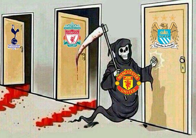 """""""@iWateba: Tough upcoming fixtures vs top sides they said...this is Manchester United!! #MUFC! http://t.co/iYJdJSWe48"""""""