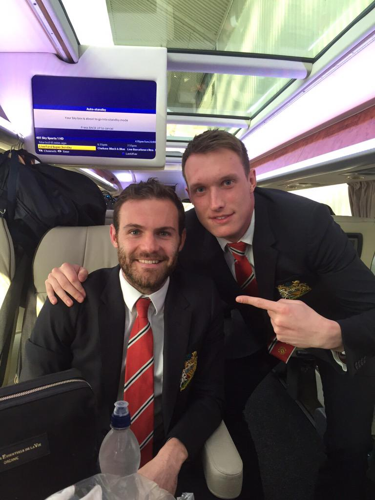 Great result today! This man was unbelievable!  #MUFC http://t.co/fcmZ1go4bR